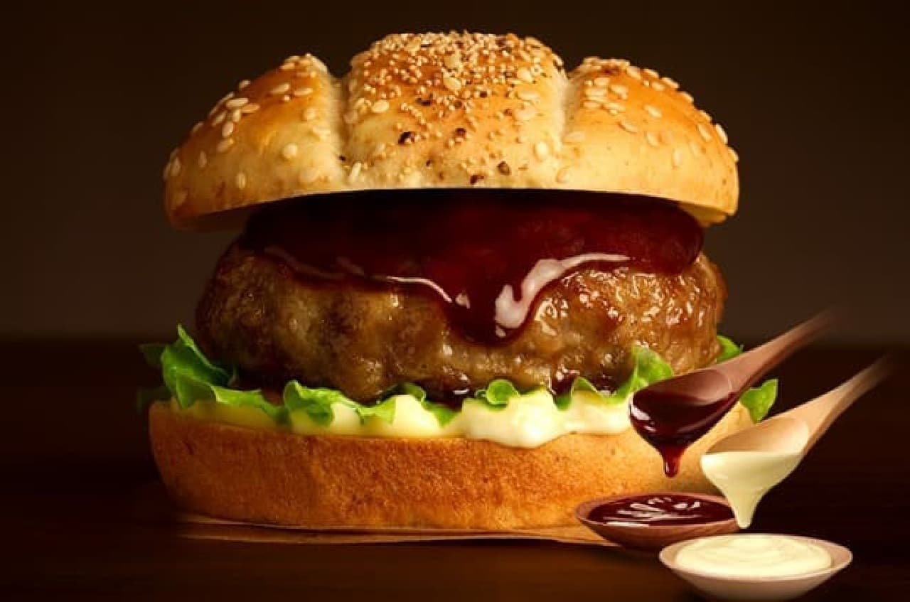 ケンタッキー・フライド・チキン「贅沢てりやきハンバーグサンド」