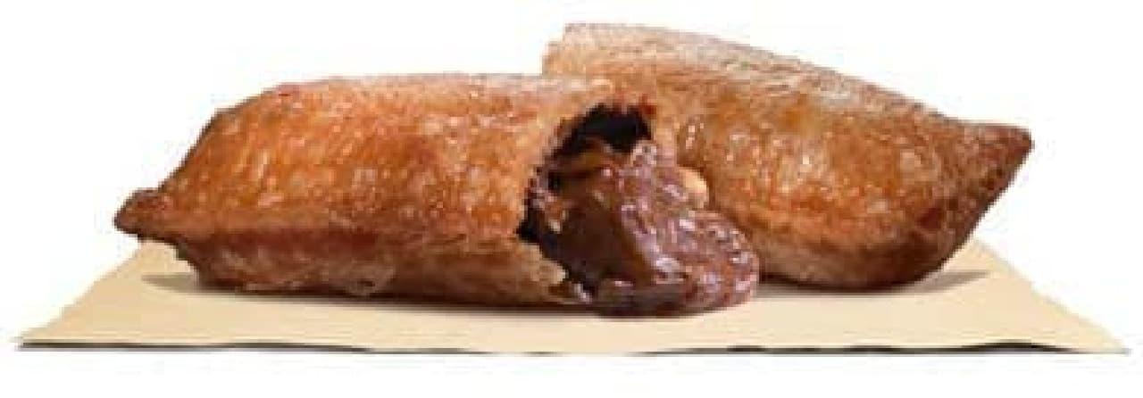 バーガーキング「ベルギーチョコレートパイ」