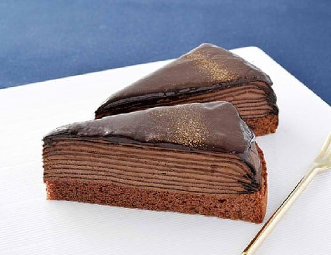 ローソン「生チョコクレープ」