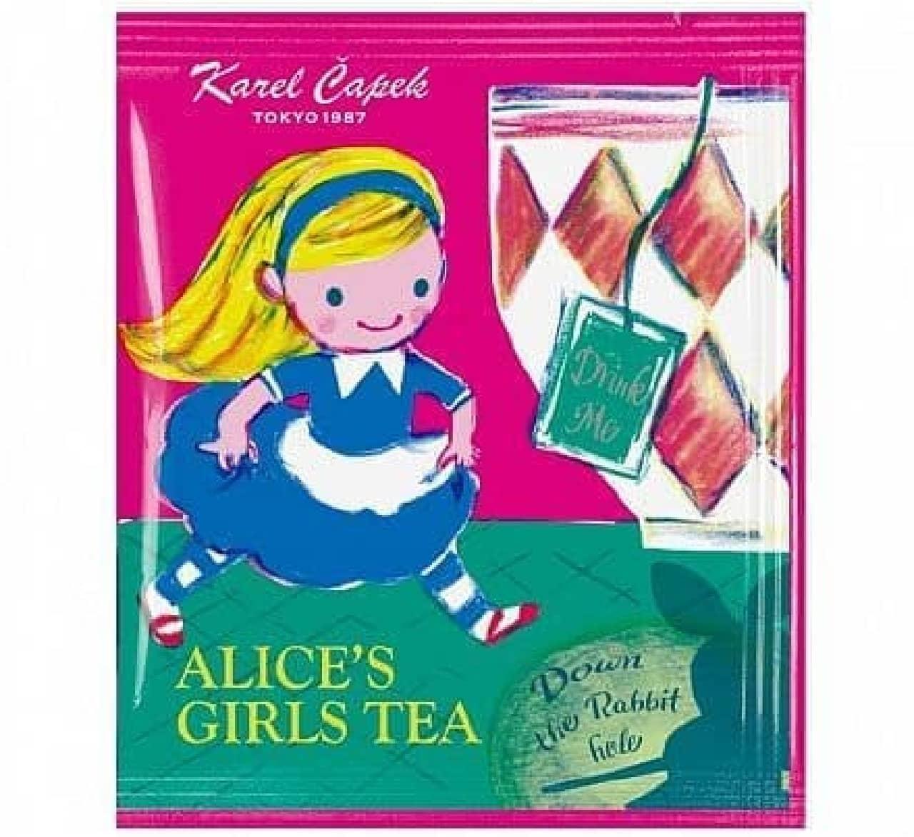 カレルチャペック紅茶店「ALICE'S GIRLS TEA」