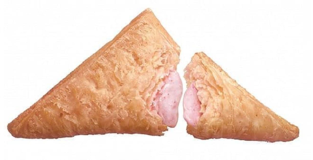 マクドナルド「三角いちごチョコパイ」