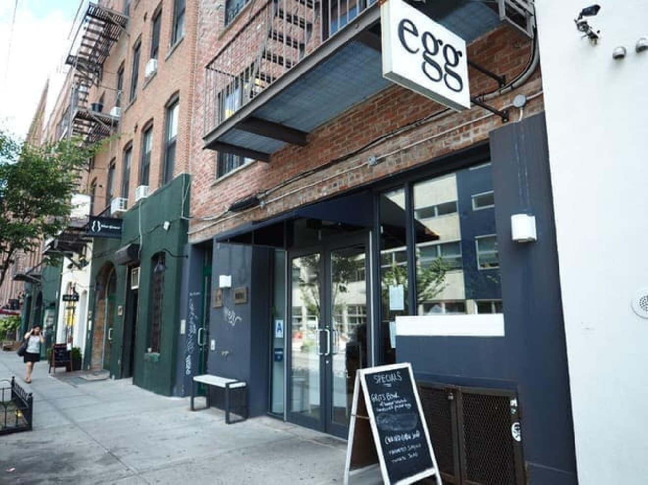 NYブルックリンのレストラン「egg(エッグ)」