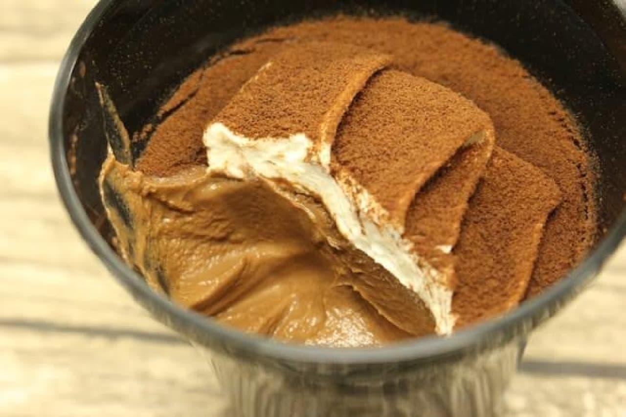 セブン「スプーンで食べるとろ生食感ショコラ」