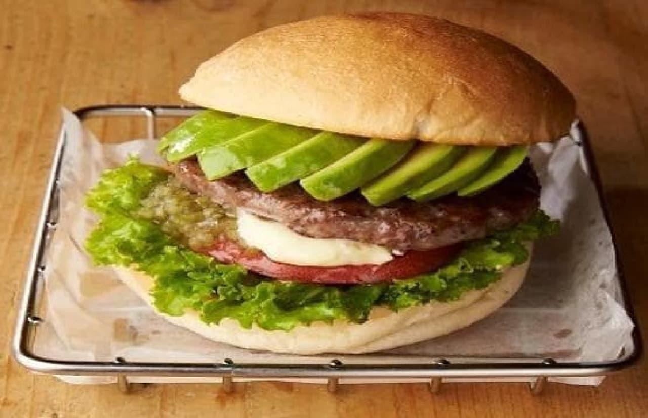 Village Vanguard Diner「1/2アボカドバーガー」