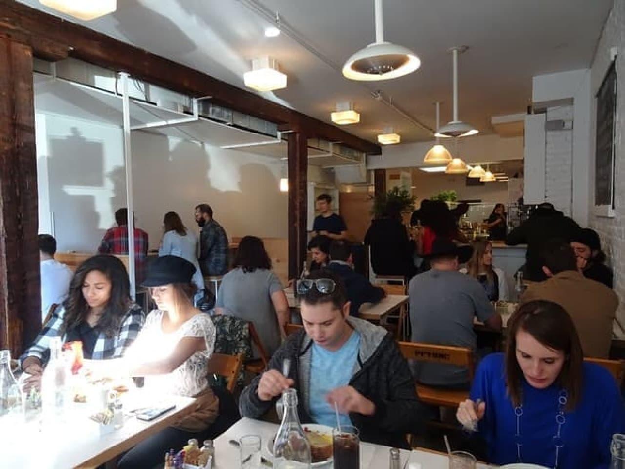 NYブルックリンのレストラン「egg(エッグ)」日本初上陸!