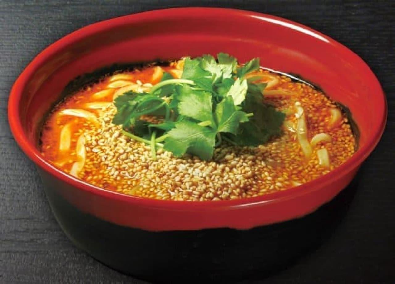 くら寿司「胡麻香る担々麺」