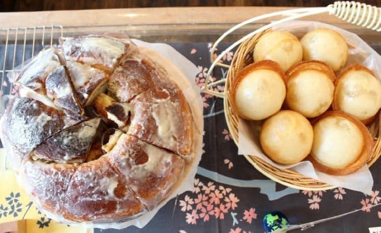 星パン屋のパンたち