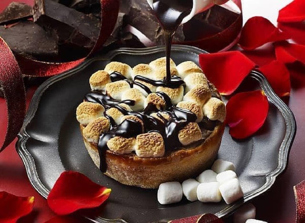 パブロプレミアムカフェ「焼きたてミニチーズタルト チョコレート×焼マシュマロ」