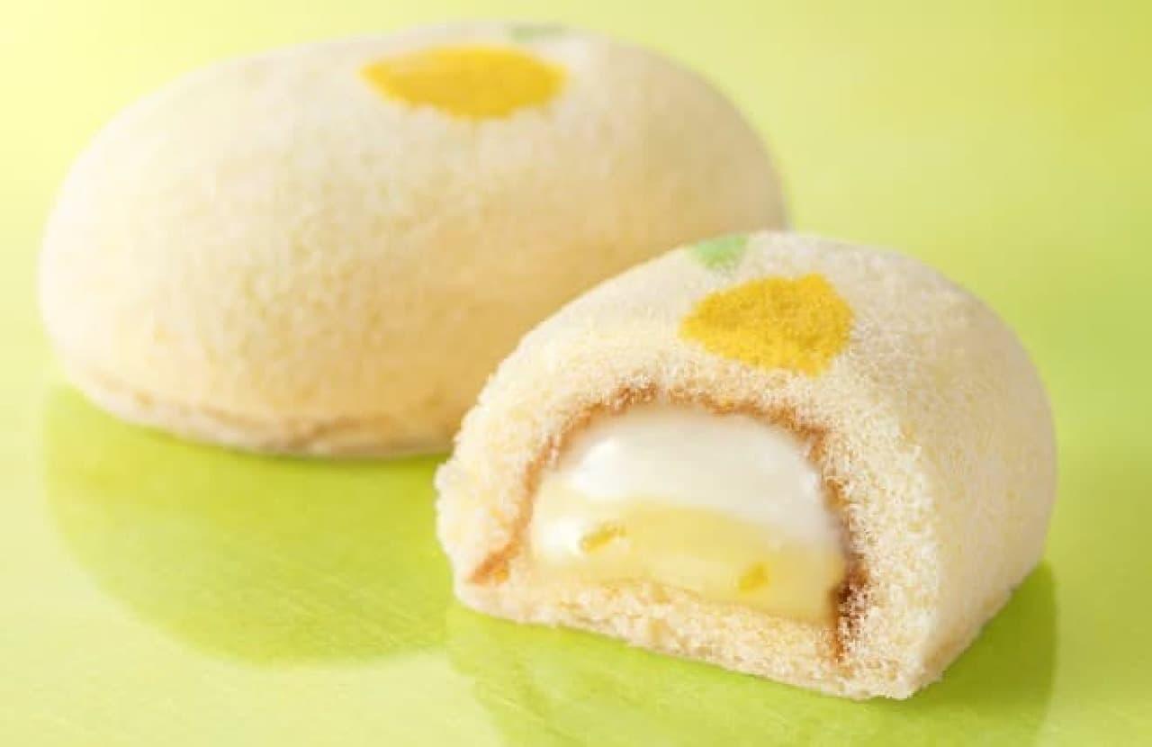 グレープストーン「『銀座の春先きレモンケーキ』です。」