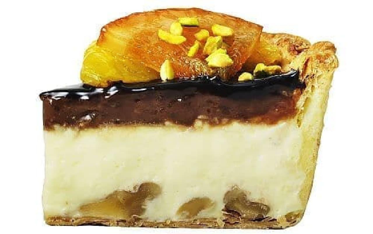 パブロ「ショコラオランジェチーズタルト」