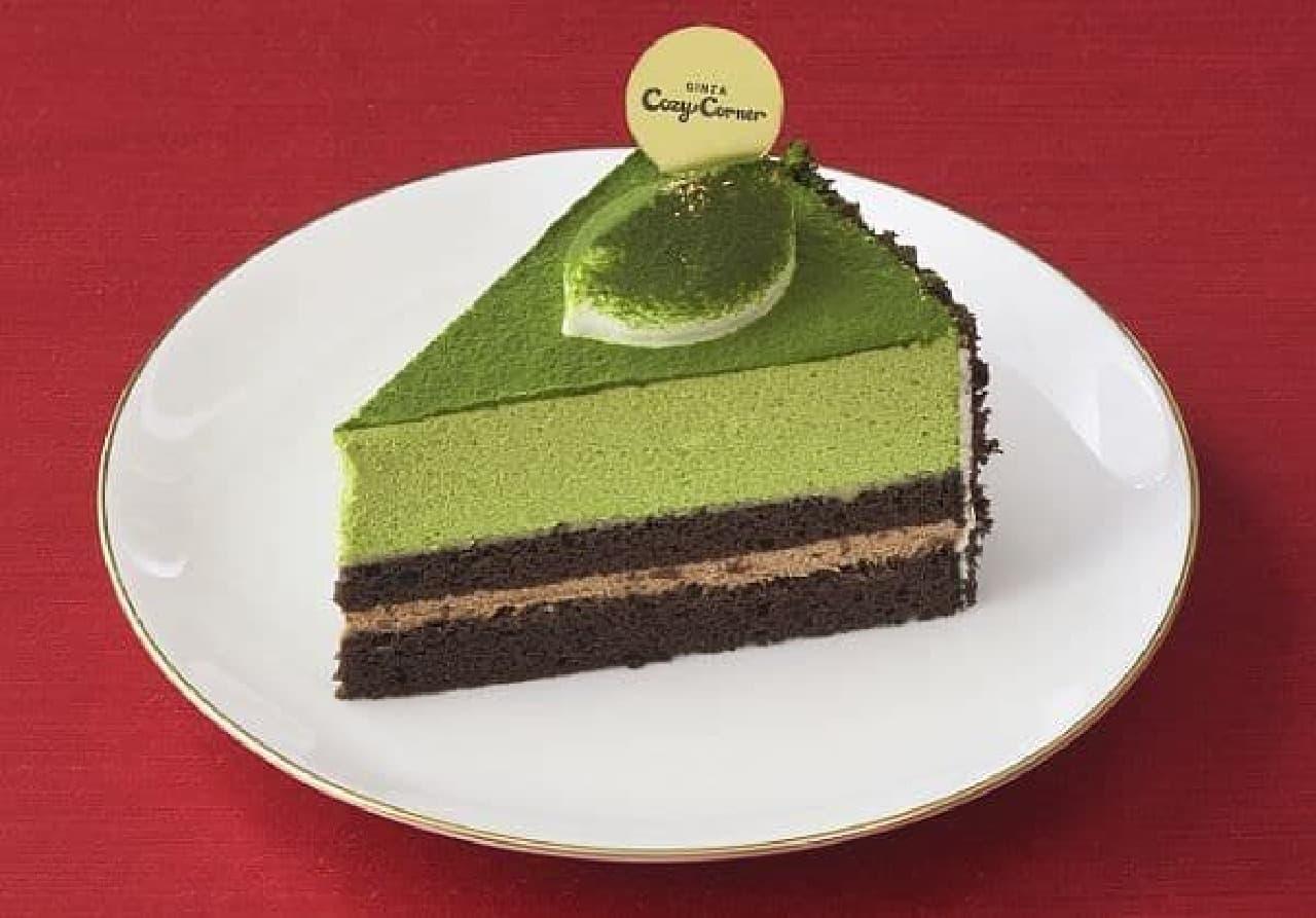 銀座コージーコーナー「お抹茶チョコレートケーキ」