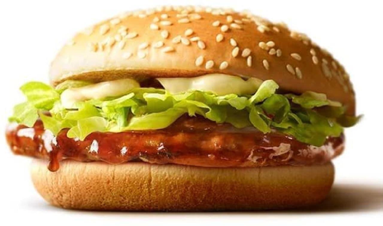 マクドナルド「てりやきマックバーガー」