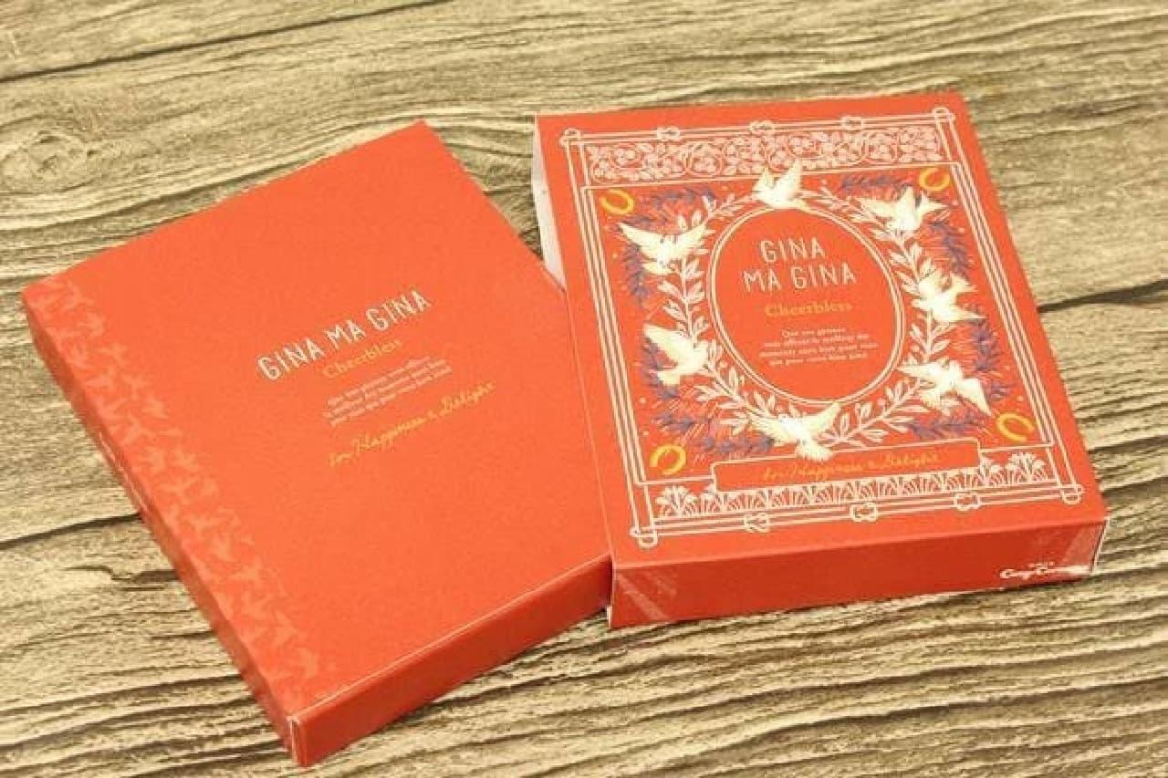 銀座コージーコーナーのチョコ「GINA MA GINA(ジーナ・マ・ジ-ナ)」