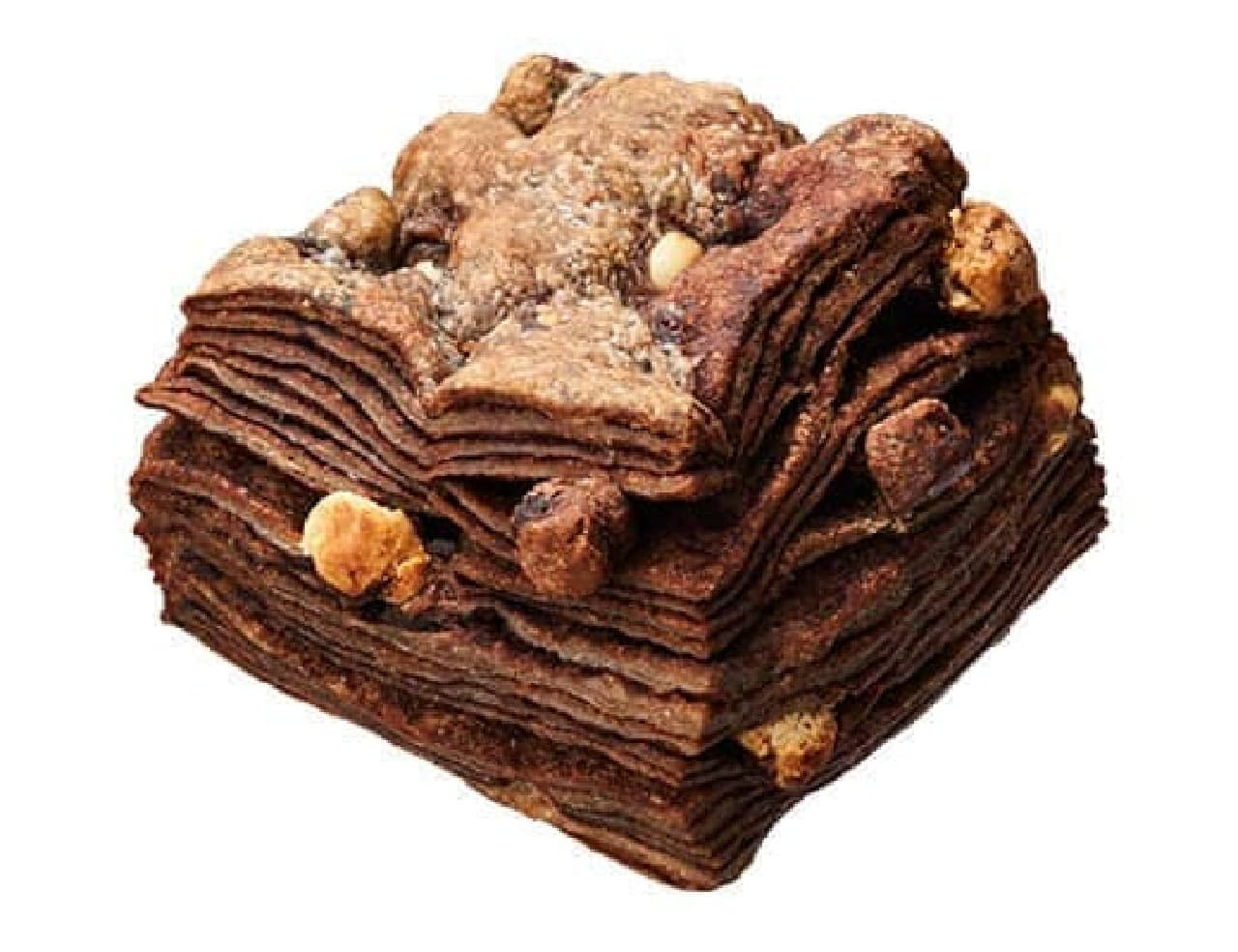 ローソンに「贅沢なチョコビスケット」