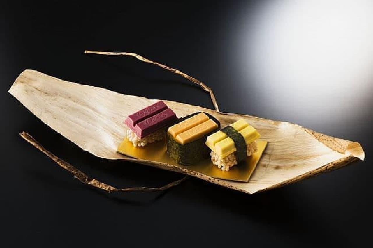キットカット ショコラトリー 銀座店「寿司キットカット」
