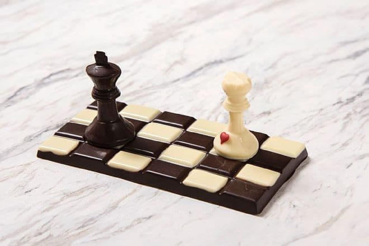 ドミニクアンセルベーカリートウキョウ「チェックメイト チョコレート チェス ボード」