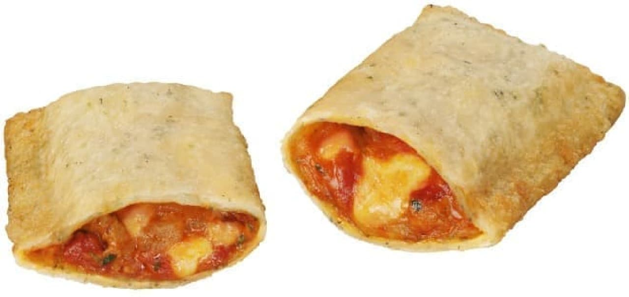 ミニストップ「揚げピザ マルゲリータ」