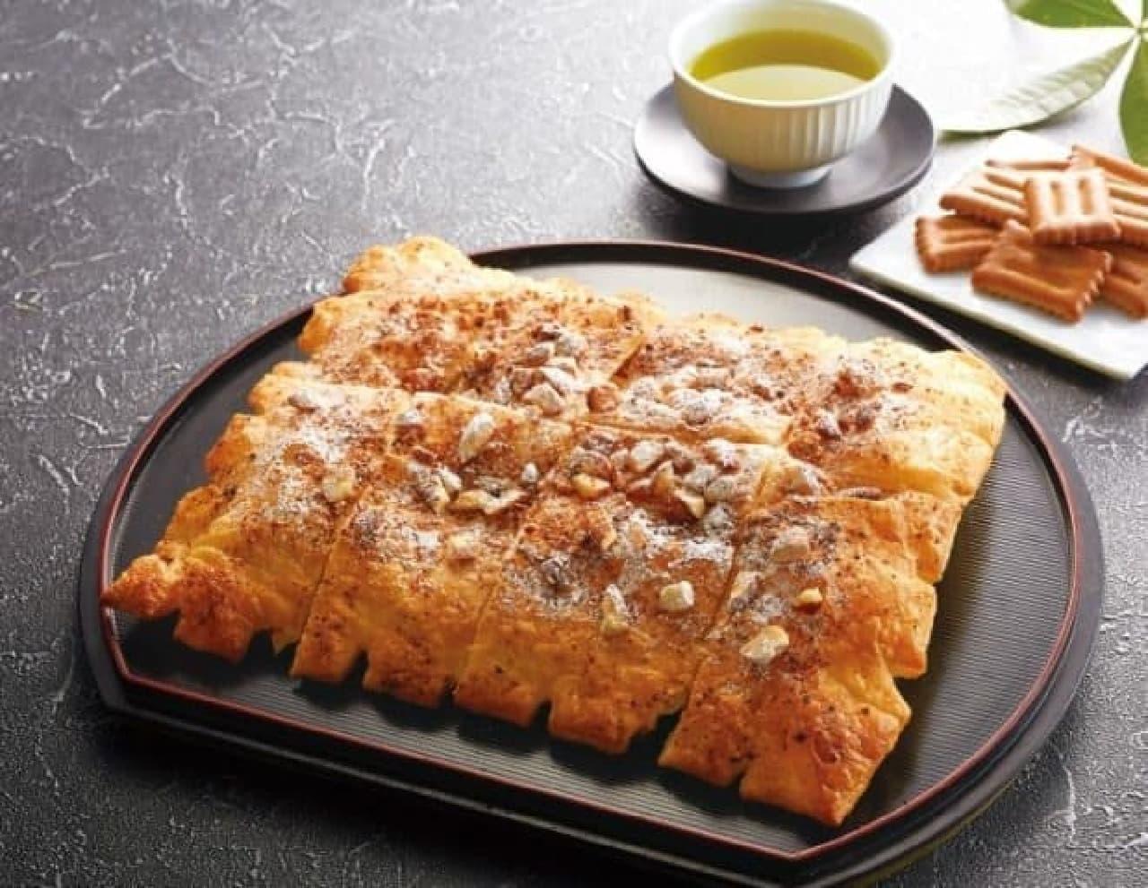 アオキーズ・ピザ「しるこサンドピザ」