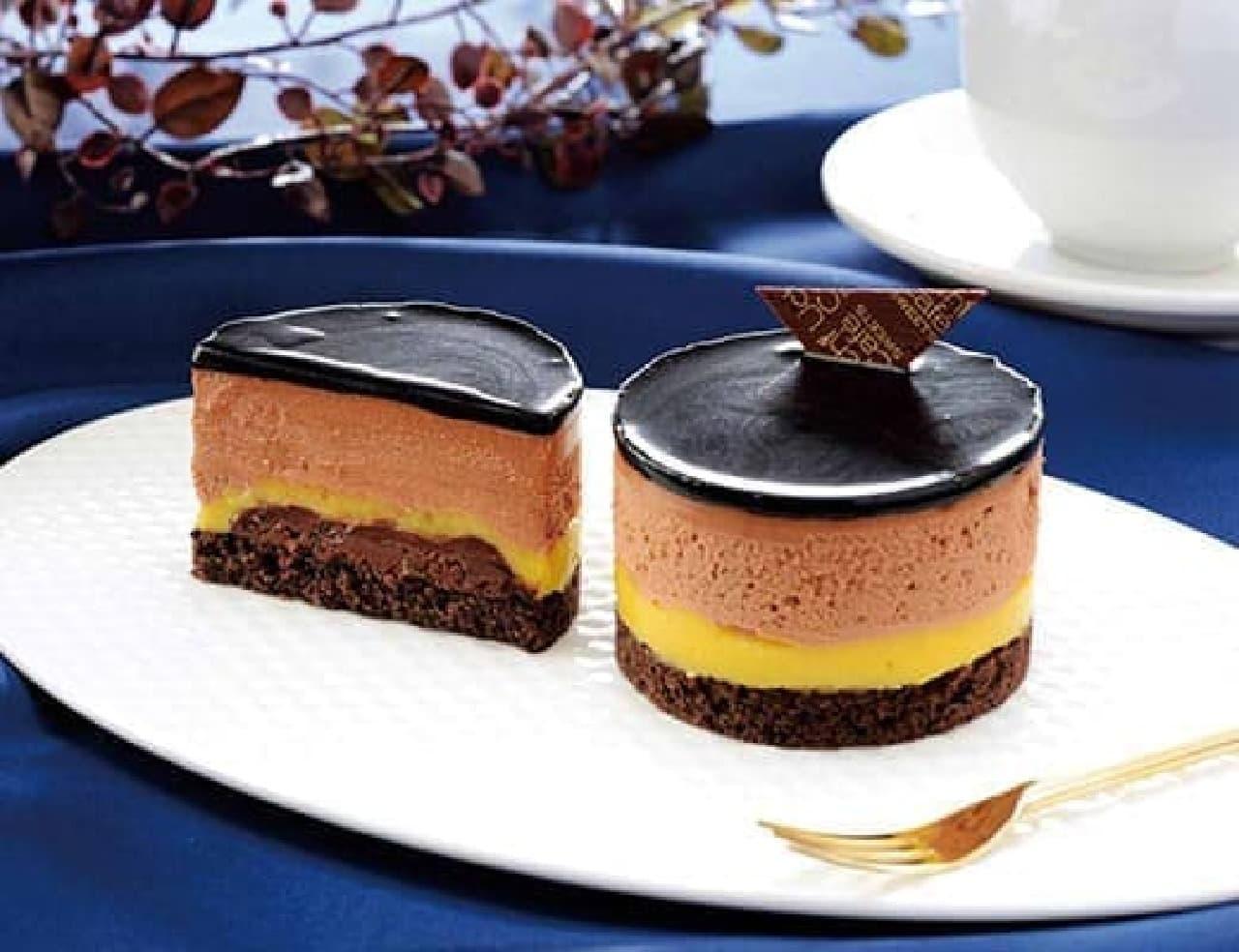 ローソン「ベルガモット香るチョコレートケーキ」