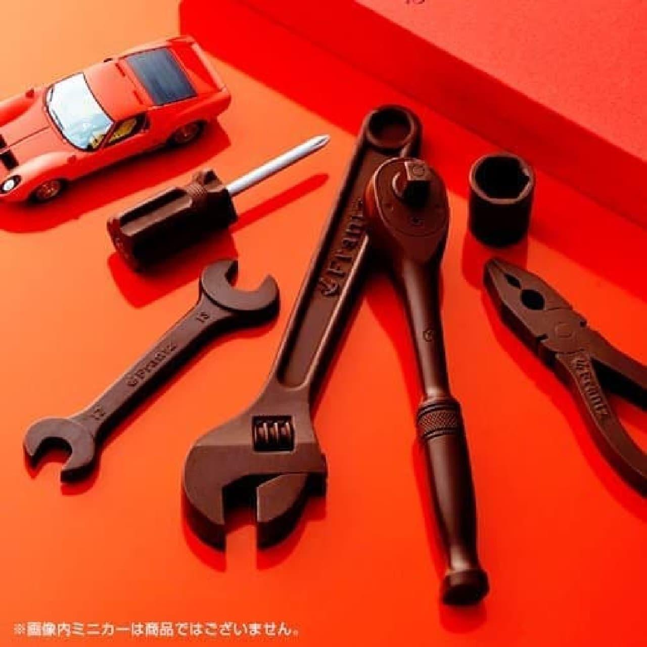 神戸フランツ 工具チョコレート カーマニア セットV6