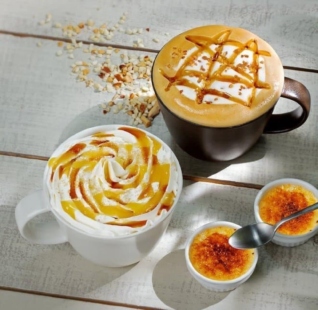 タリーズコーヒー バニラクレームブリュレラテ