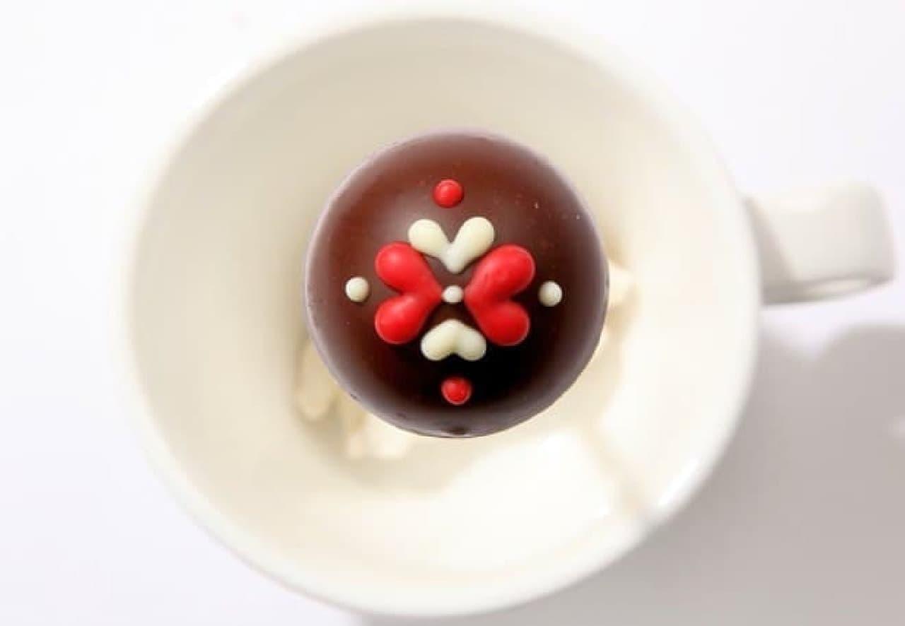 マルシェ ド ショコラ「ファンシーロリポップチョコレート ミルク」