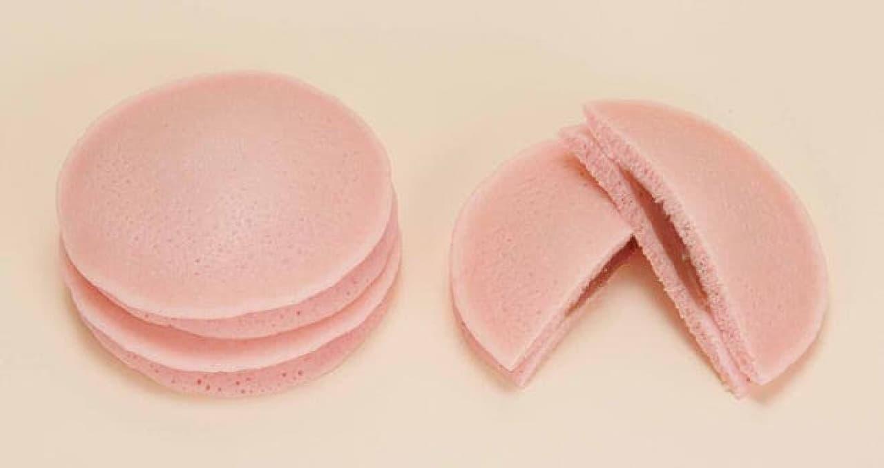 ファミマ「もちっとパンケーキ(桜白あん)」