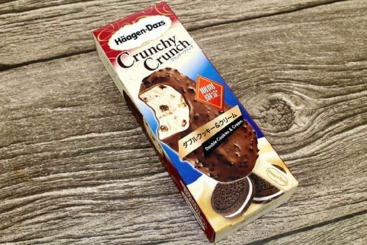 ハーゲンダッツ クランチークランチ「ダブルクッキー&クリーム」