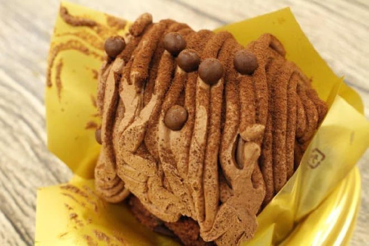 ミニストップ「ショコラティエのモンブラン」