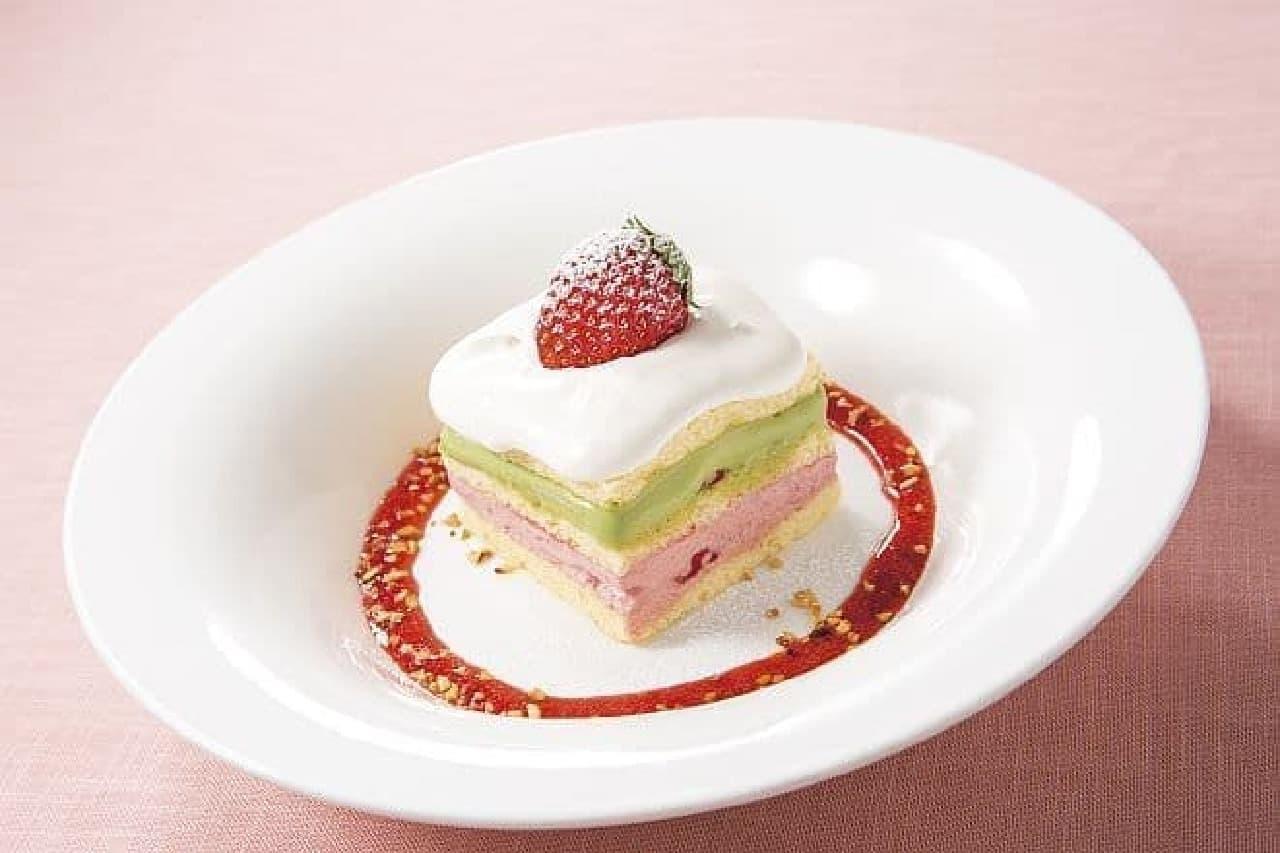 デニーズ「とちおとめのショートケーキ」
