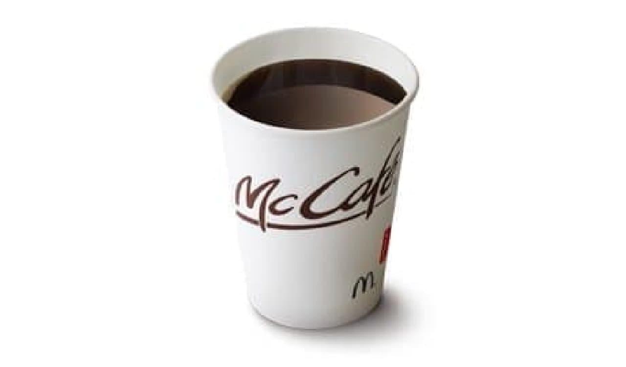 マクドナルド「プレミアムローストコーヒー(ホット)」