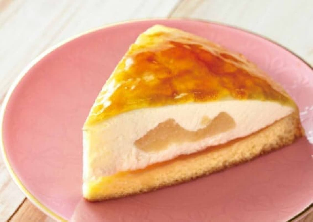 ベローチェ 白桃のムースクレープ包み