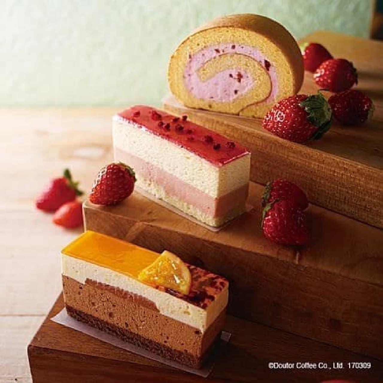 エクセルシオール カフェ春のケーキ3種