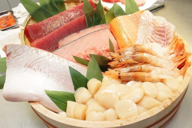 イトーヨーカドー「海鮮丼」の魚介