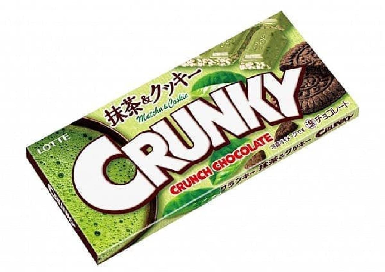 ロッテ「クランキー<抹茶&クッキー>」