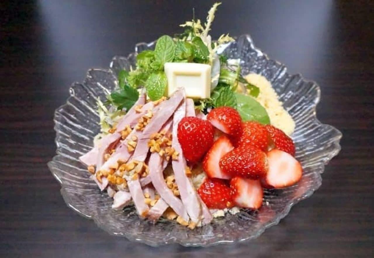 麺屋武蔵「つけガーナホワイト2017~苺の香り~」
