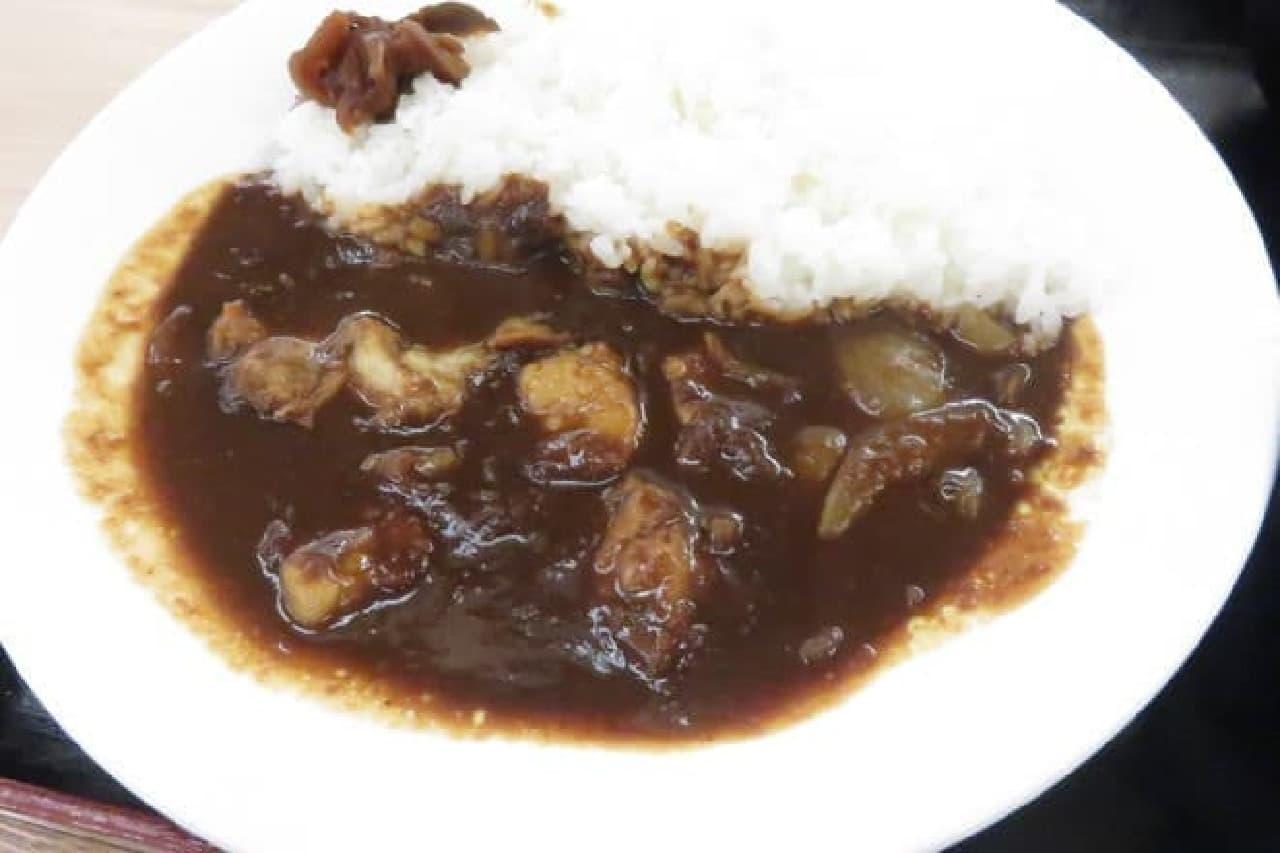 牛丼松屋のビーフカレー