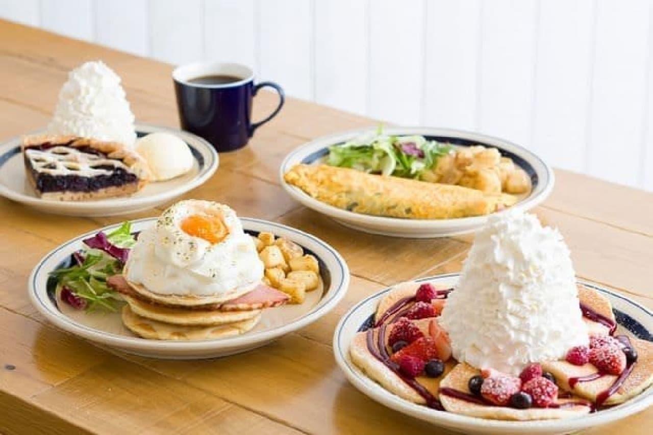 Eggs 'n Things 梅田茶屋町店メニュー