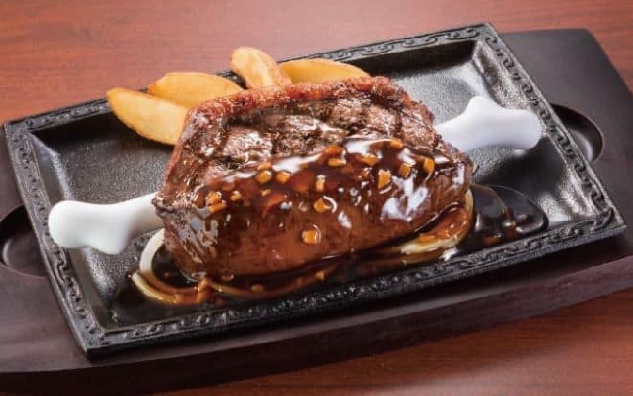 ステーキガスト「イチボのこんがり肉」
