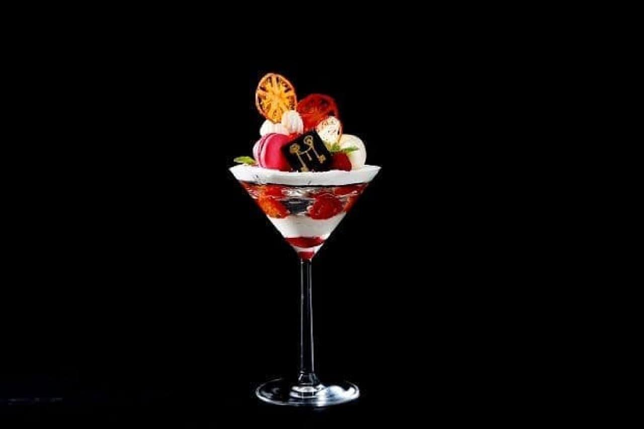 ストリングスホテル名古屋「愛知県産フルーツトマトとはちみつのパフェ」