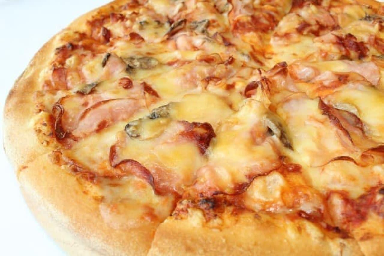 ドミノ・ピザ「ハニーハムと芳醇ゴーダ」