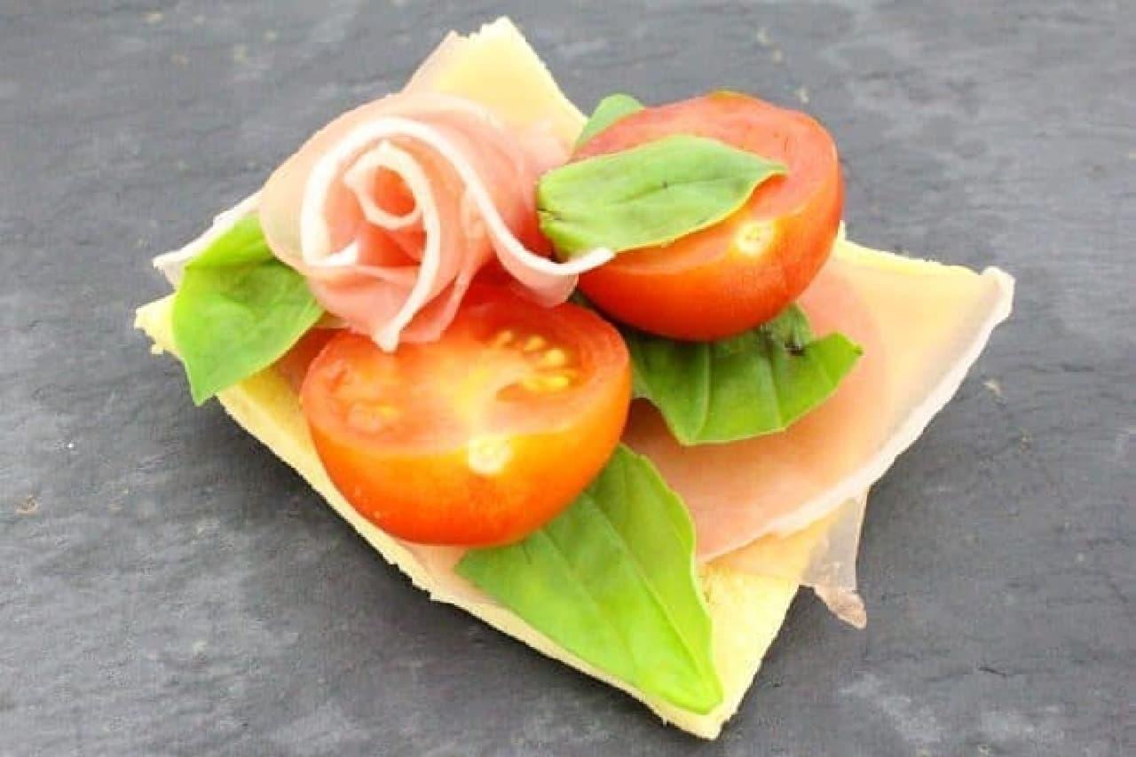 高野豆腐のタルティーヌ
