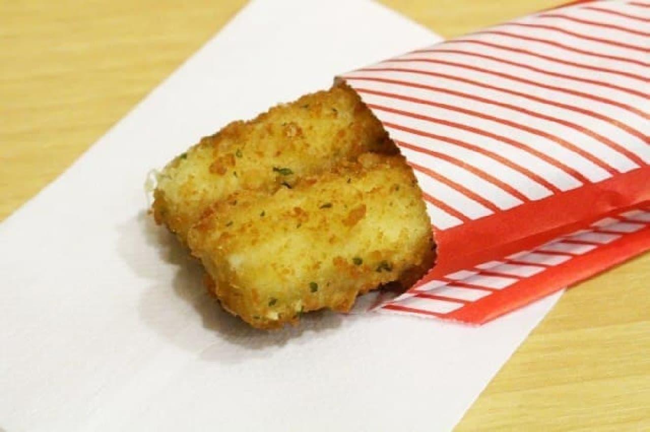 ロッテリア「のび~るチーズスティック(2本入り)」