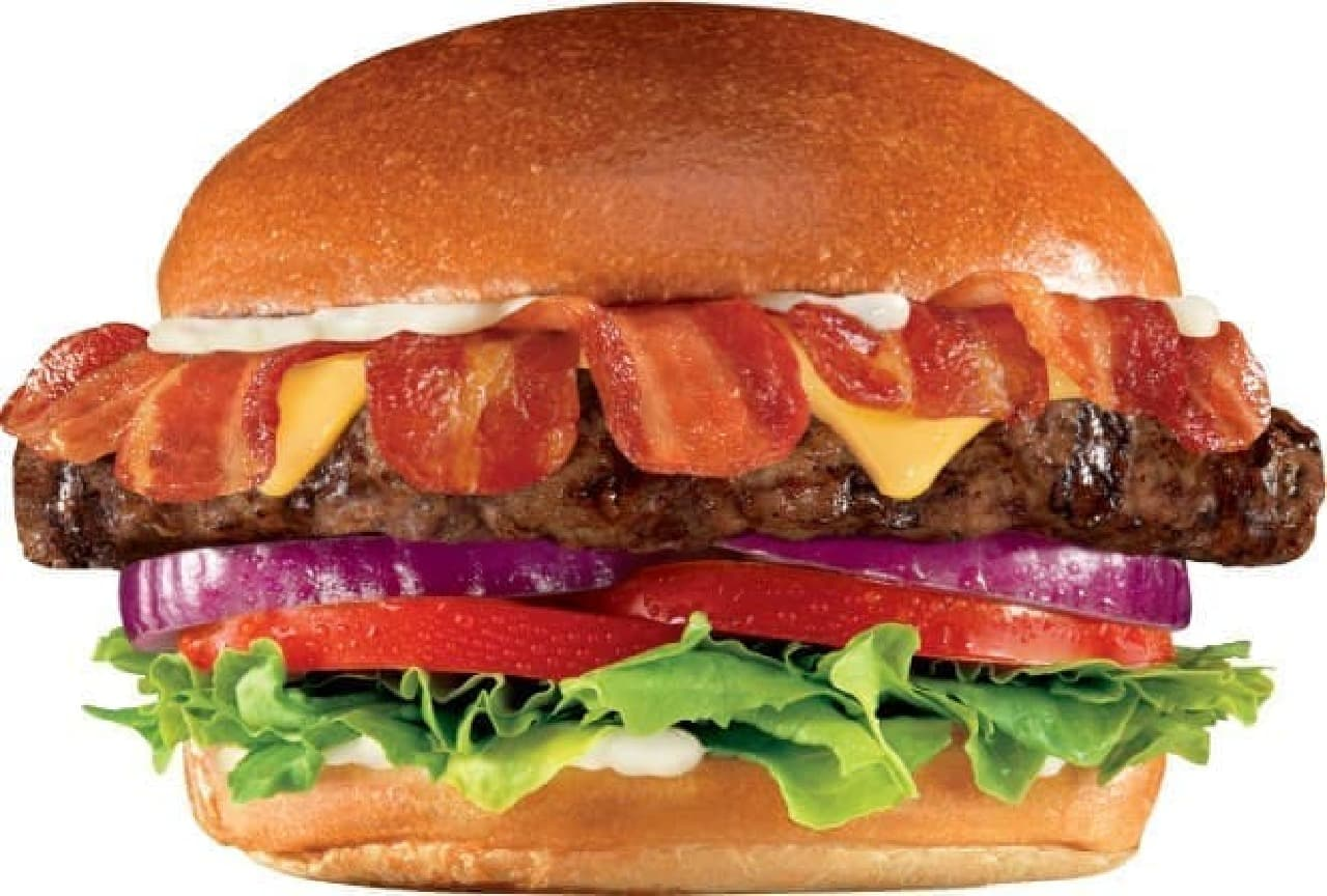 Carl's Jr.「SUPER BACON CHEESE THICKBURGER(スーパーベーコンチーズシックバーガー)」