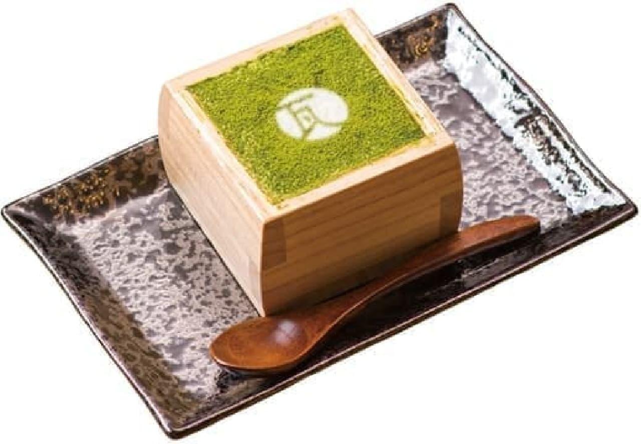 kawara CAFE&DINING「抹茶の升ティラミス」