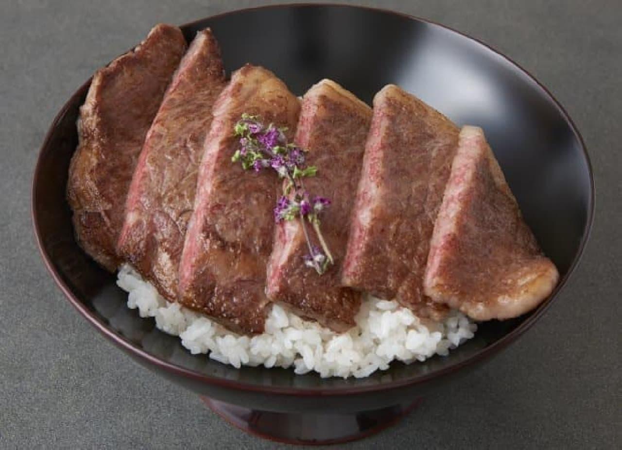 銀座大食堂 神戸牛すてーき Ishida 「神戸牛のサーロインステーキ重」