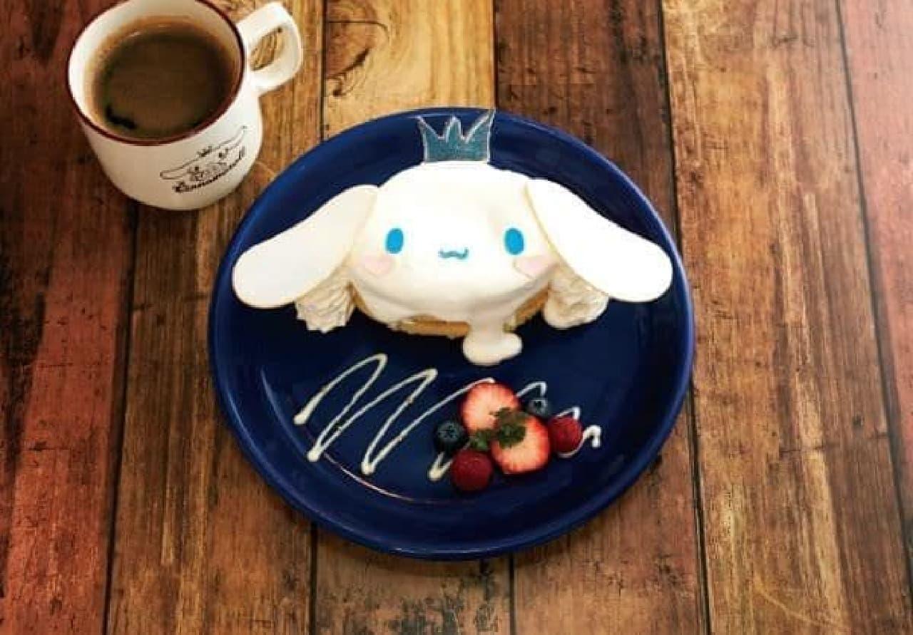 シナモロール カフェや「シナモンのスペシャルショートケーキ」