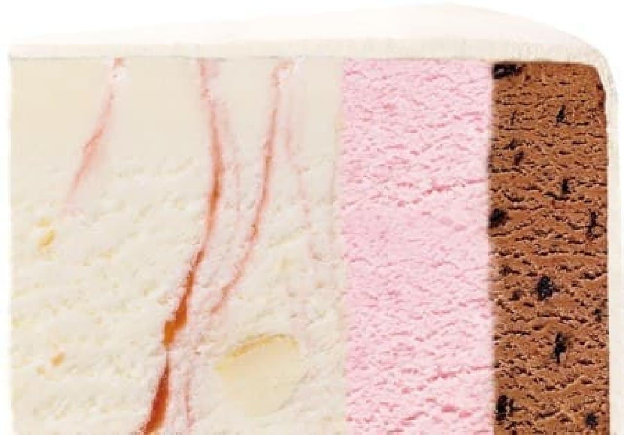 サーティワン アイスクリーム「ドリーミープリンセスケーキ」