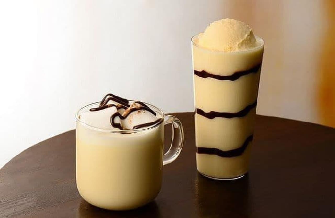 カフェ・ド・クリエ「チョコミルクセーキ」