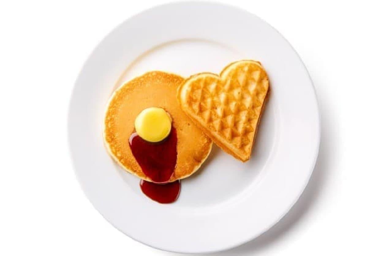 イケア「ワッフル ウィーク」ワッフル&パンケーキ朝食